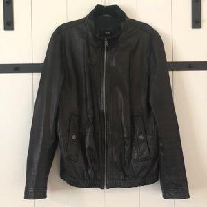 Hugo Boss 100% Lamb Leather Jacket